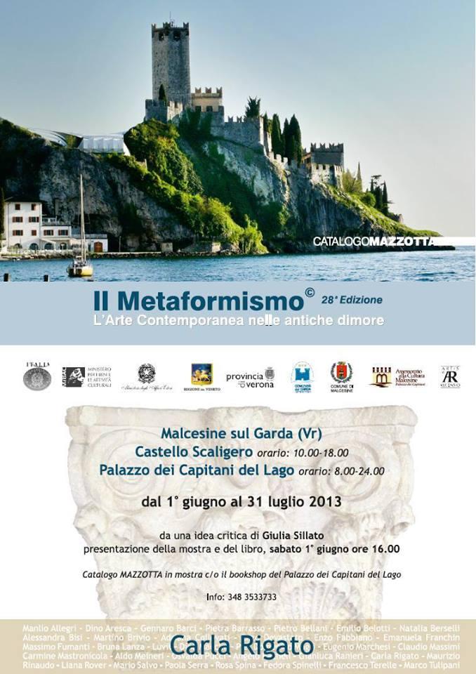 Carla Rigato partecipa Il Metamorfismo – L'Arte Contemporanea nelle antiche dimore (28^ edizione)
