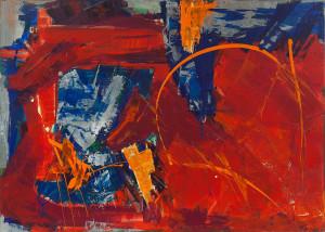 Il Sudario degli amanti (part) 2012, tela, colle, gesso acrilici 80x60