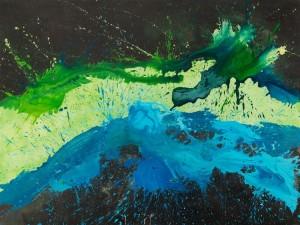 Acqua Madre, (2014, acrilico su tela, 80x100)